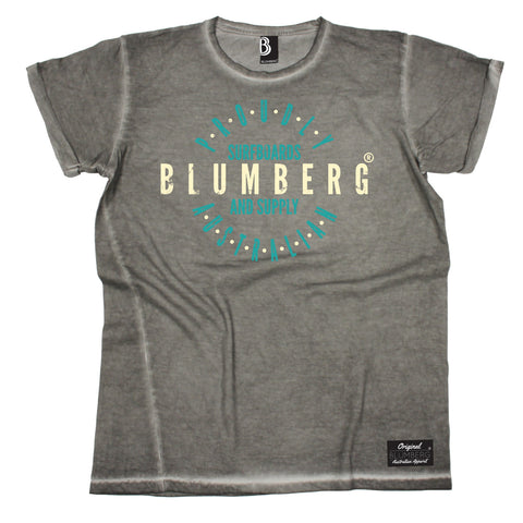 Men's Blumberg Surfboards And Supply Proudly Australian Vintage T-Shirt