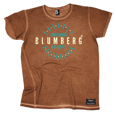 Women's Blumberg Surfboards And Supply Proudly Australian - Vintage T-Shirt