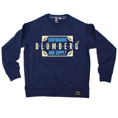 Blumberg Australia Men's Blumberg Surfboards And Supply Proudly Australian Premium Sweatshirt