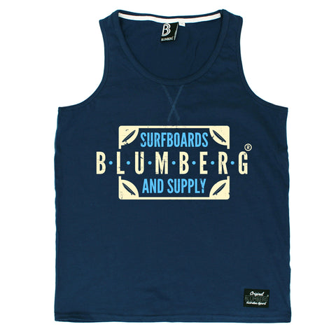 Blumberg Australia Men's Blumberg Surfboards And Supply Proudly Australian Premium Vest Tank Top