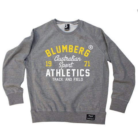 Blumberg Australia Men's Australian Sport Athletics Track And Field 1971 Premium Sweatshirt