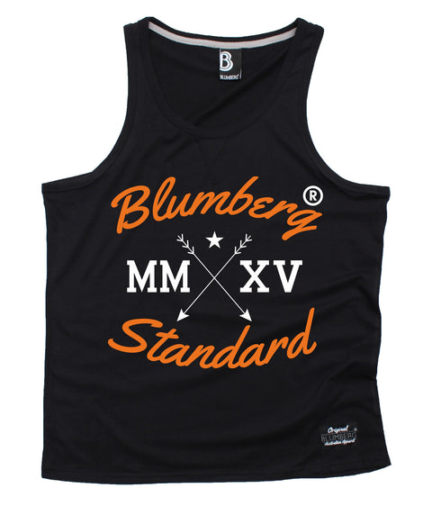 Blumberg Australia Men's MM XV Standard Arrow Design Premium Vest Tank Top