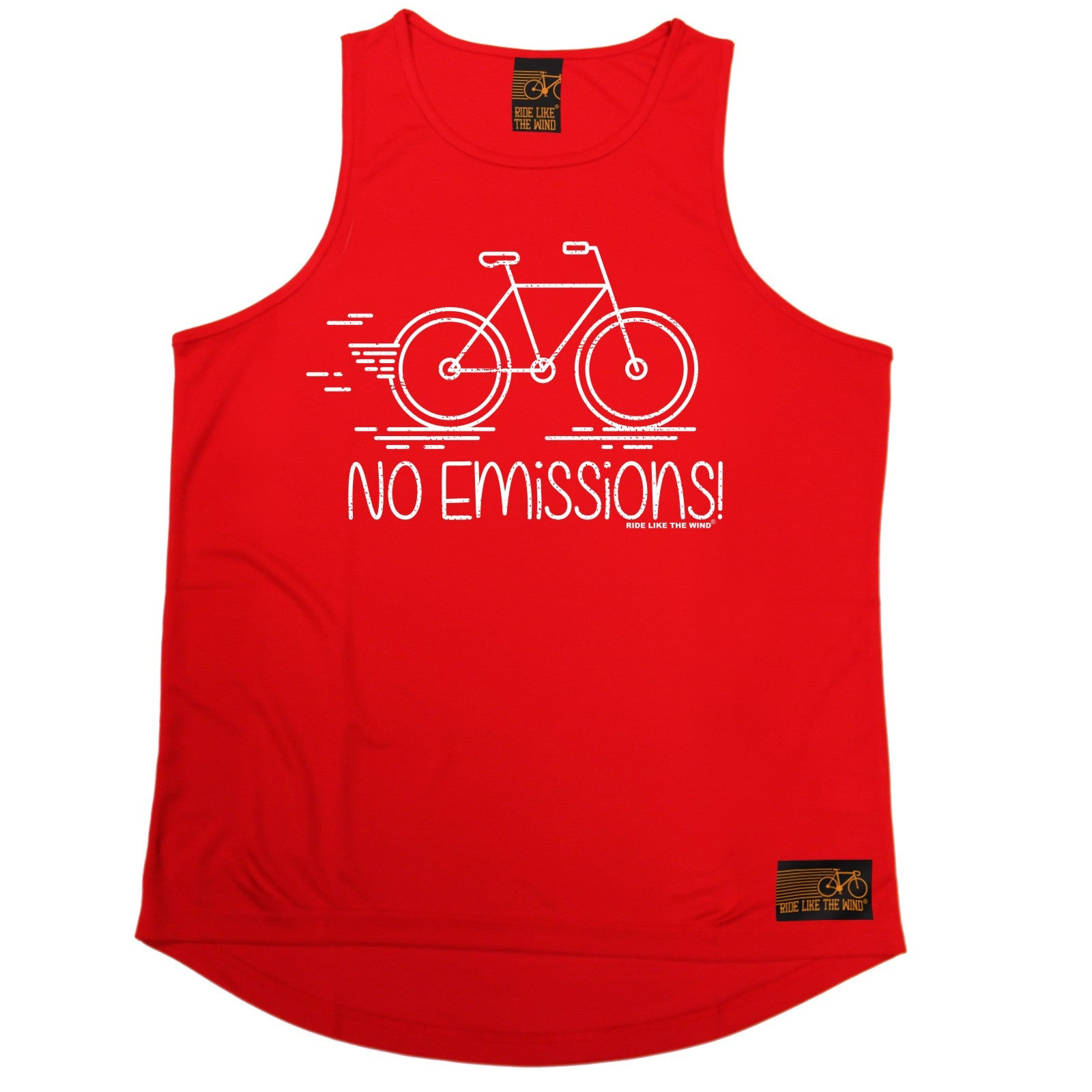 No-Emissions-RLTW-MENS-DRY-FIT-VEST-singlet-cycling-cyclist-bicycle-birthday
