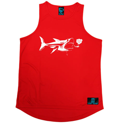 Open Water Where Are The Big Fish Scuba Diving Men's Training Vest