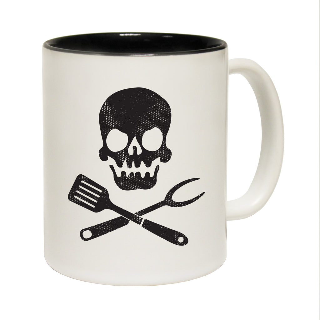 123T Funny Mugs - Cooking Skull - Coffee Cup