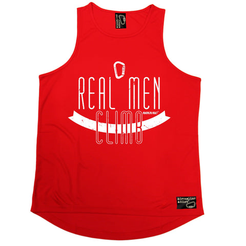 Adrenaline Addict Real Men Climb Rock Climbing Men's Training Vest