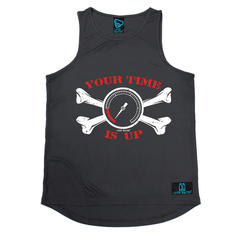 Open Water Your Time Is Up Scuba Diving Men's Training Vest