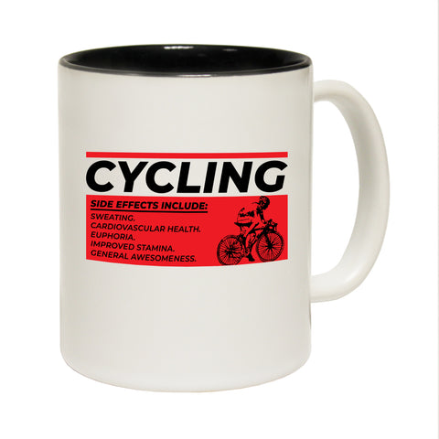 123T Funny Mugs - Cycling Side Effects Include - Coffee Cup