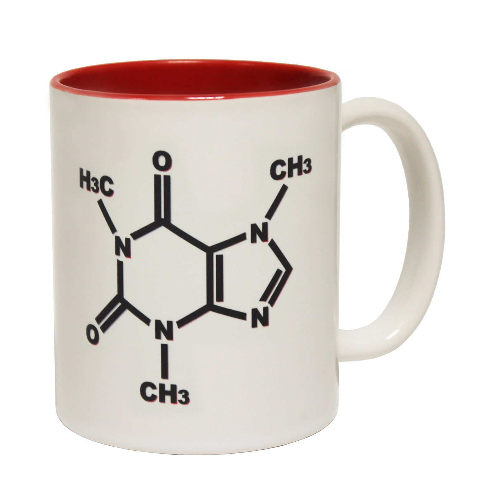funny mugs Caffeine Chemical Structure Coffee Mug Addict Nerd Geek