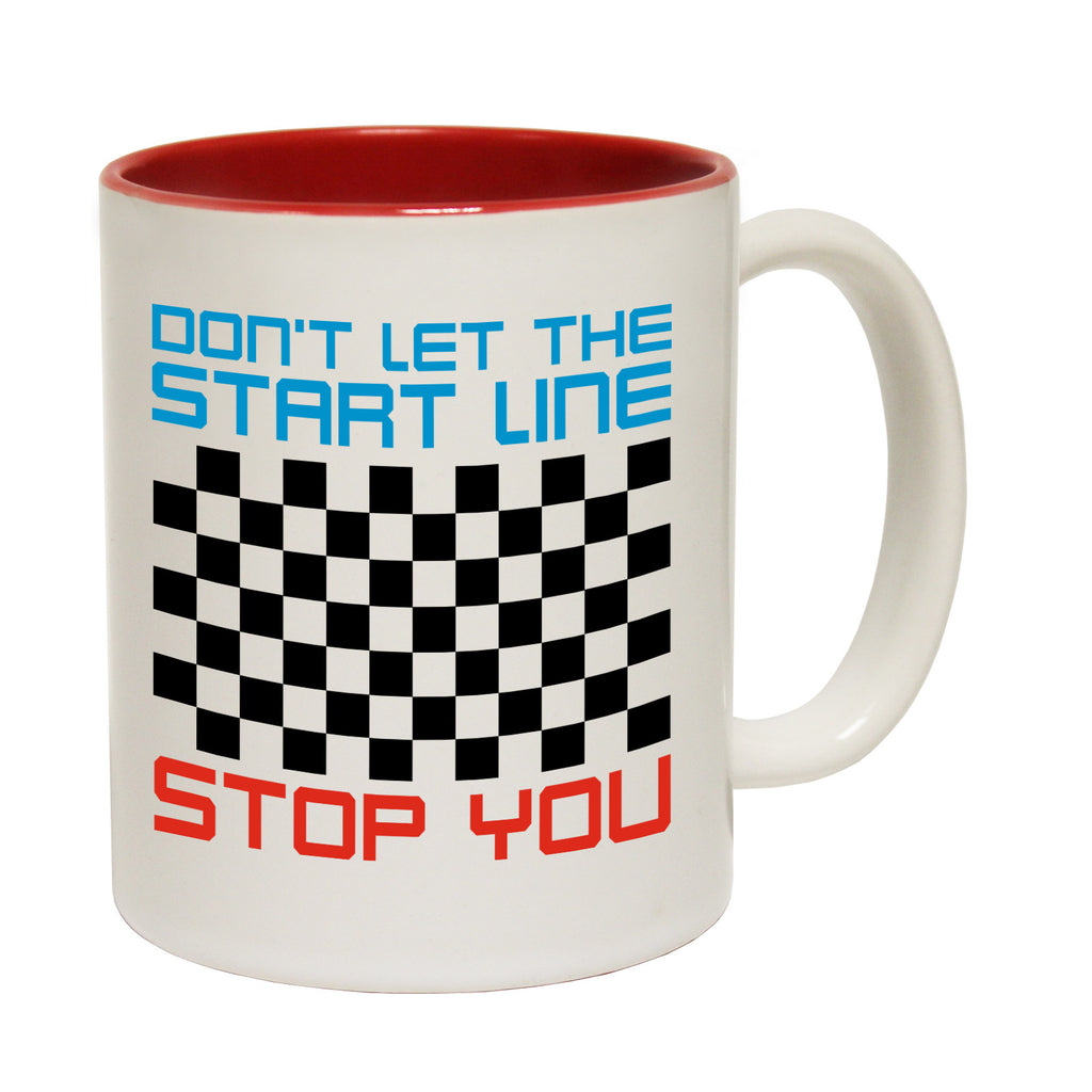 Personal Best Don't Let The Start Line Stop Line Funny Mug