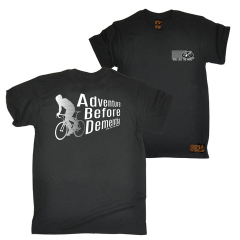 FB Ride Like The Wind Cycling Tee - Adventure Before Dementia - Mens T-Shirt