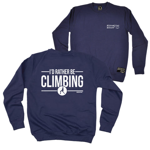 FB Adrenaline Addict Rock Climbing Sweatshirt - Rather Climbing - Sweater Jumper