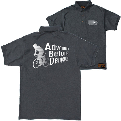 FB Ride Like The Wind Cycling Polo Shirt - Adventure Before Dementia - Polo T-Shirt