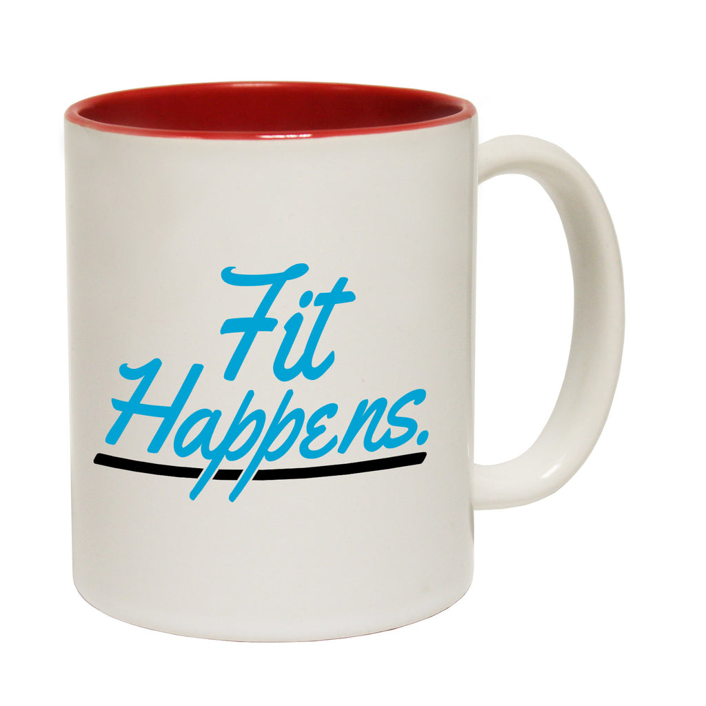 Personal Best Fit Happens Funny Running Mug