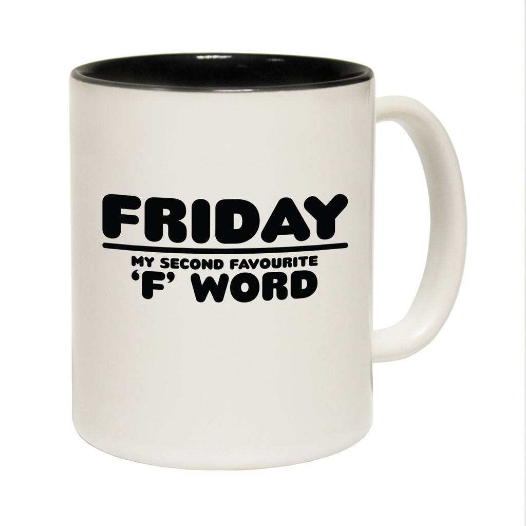 123T Funny Mugs - Friday Second Favourite - Coffee Cup