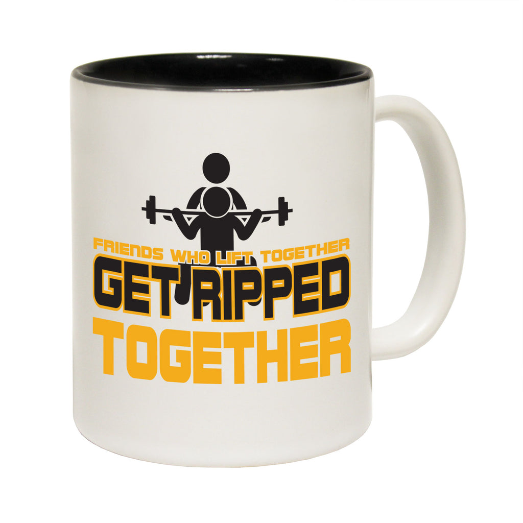 123T Funny Mugs - Friend Ripped Together - Coffee Cup