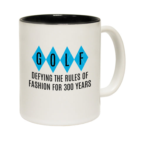 Out Of Bounds Golf Defying The Rules Of Fashion For 300 Years Funny Mug