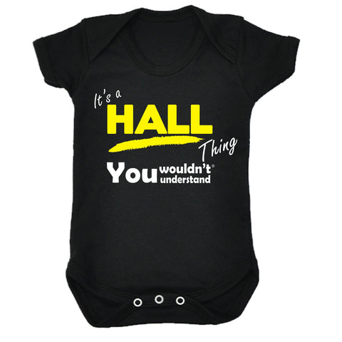 123t Baby It's A Hall Thing You Wouldn't Understand Funny Babygrow