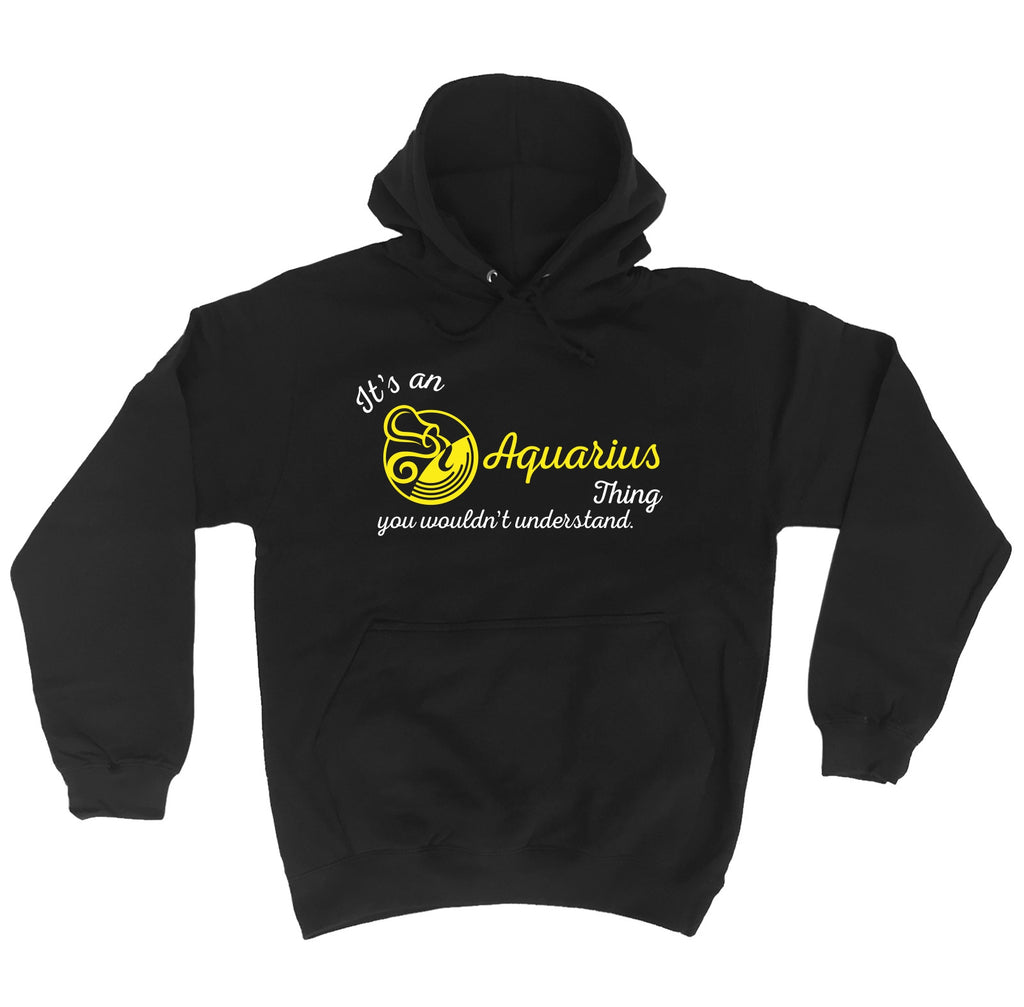 123t It's An Aquarius Thing ... Understand Funny Hoodie