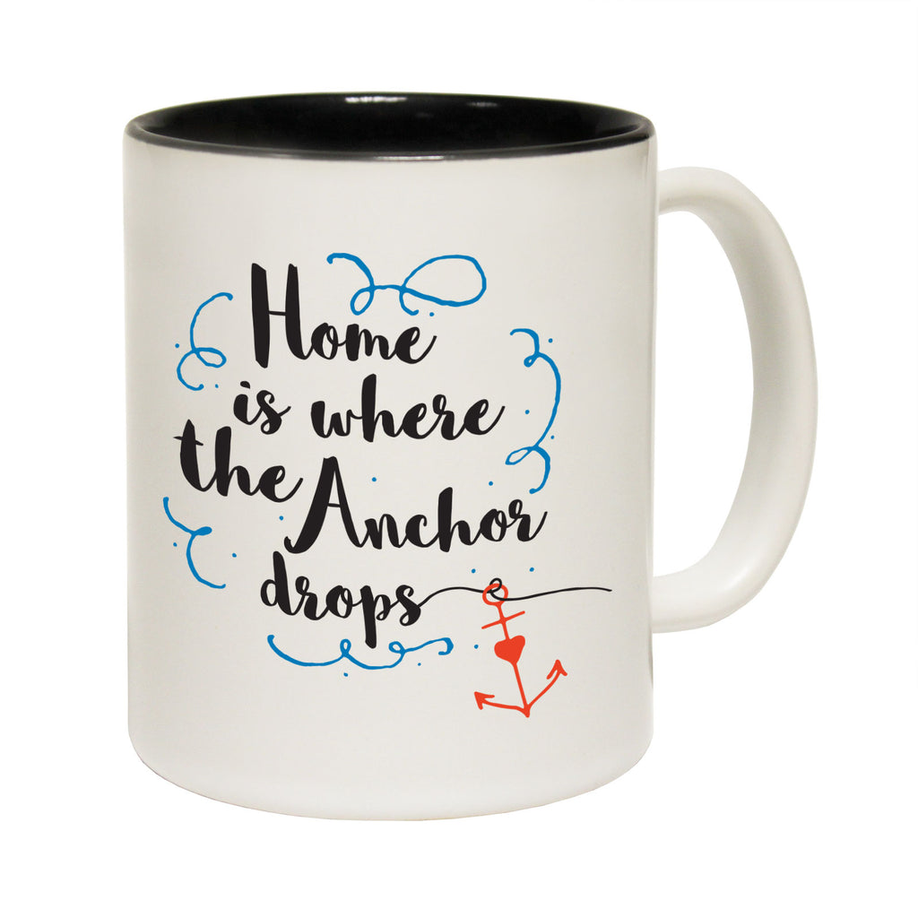 123T Funny Mugs - Home Anchor Drops - Coffee Cup