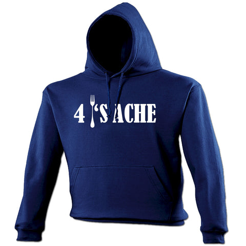 123t 4 Forks Ache Fork Design Funny Hoodie, 123t