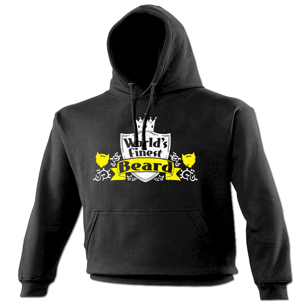 123t World's Finest Beard Funny Hoodie