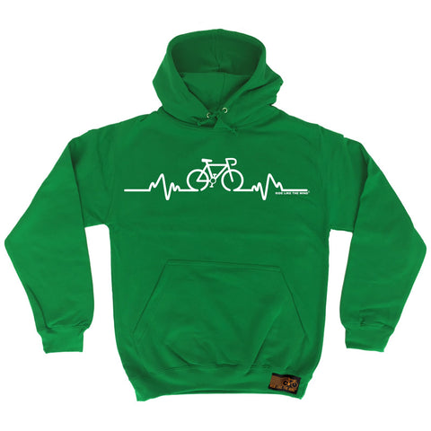 Ride Like The Wind Bike Pulse Cycling Hoodie