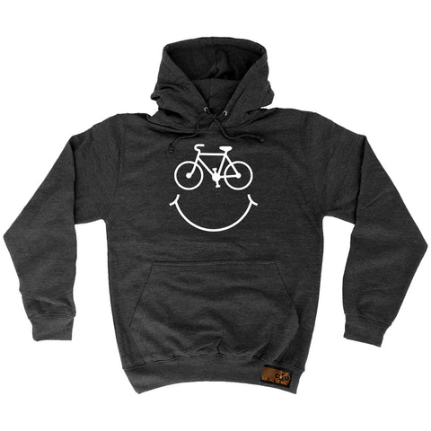 Ride Like The Wind Bicycle Smile Cycling Hoodie