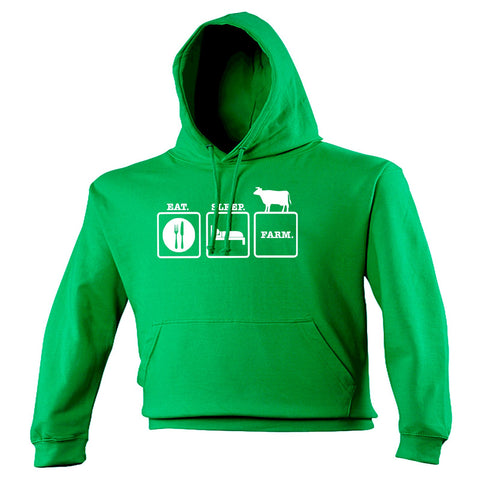 123t Eat Sleep Farm Funny Hoodie, 123t