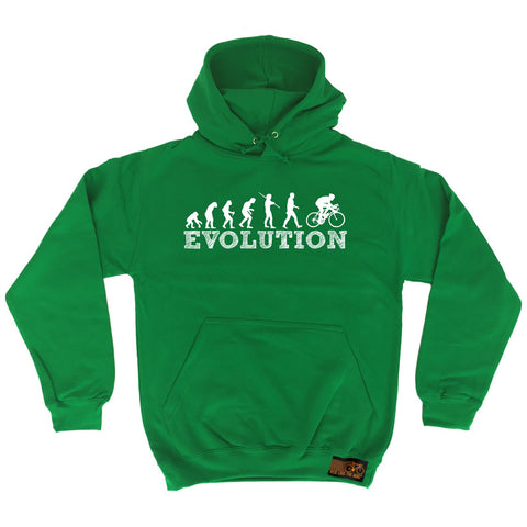 Ride Like The Wind Evolution Bike Racer Cycling Hoodie