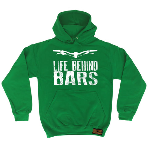Ride Like The Wind Life Behind Bars Mountain Bike Cycling Hoodie