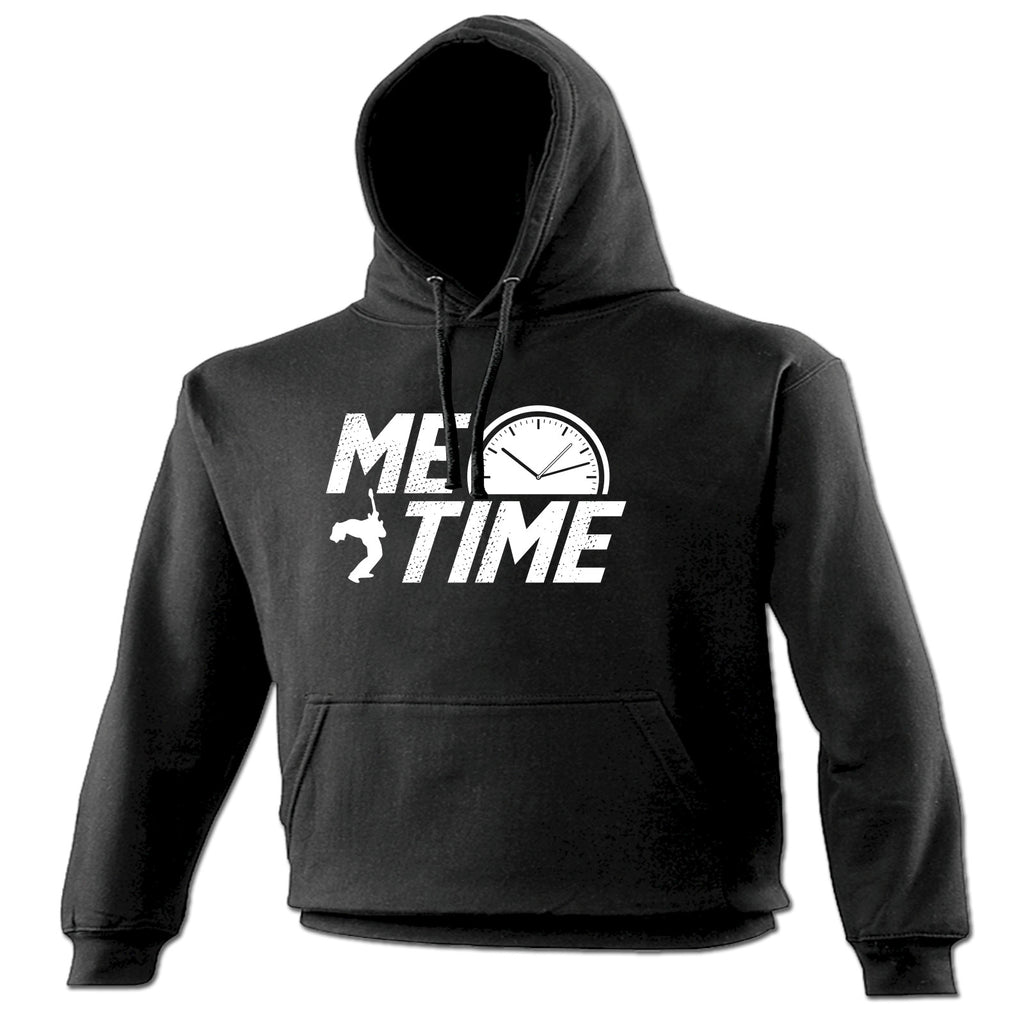 123t Me Time Guitar Design Funny Hoodie