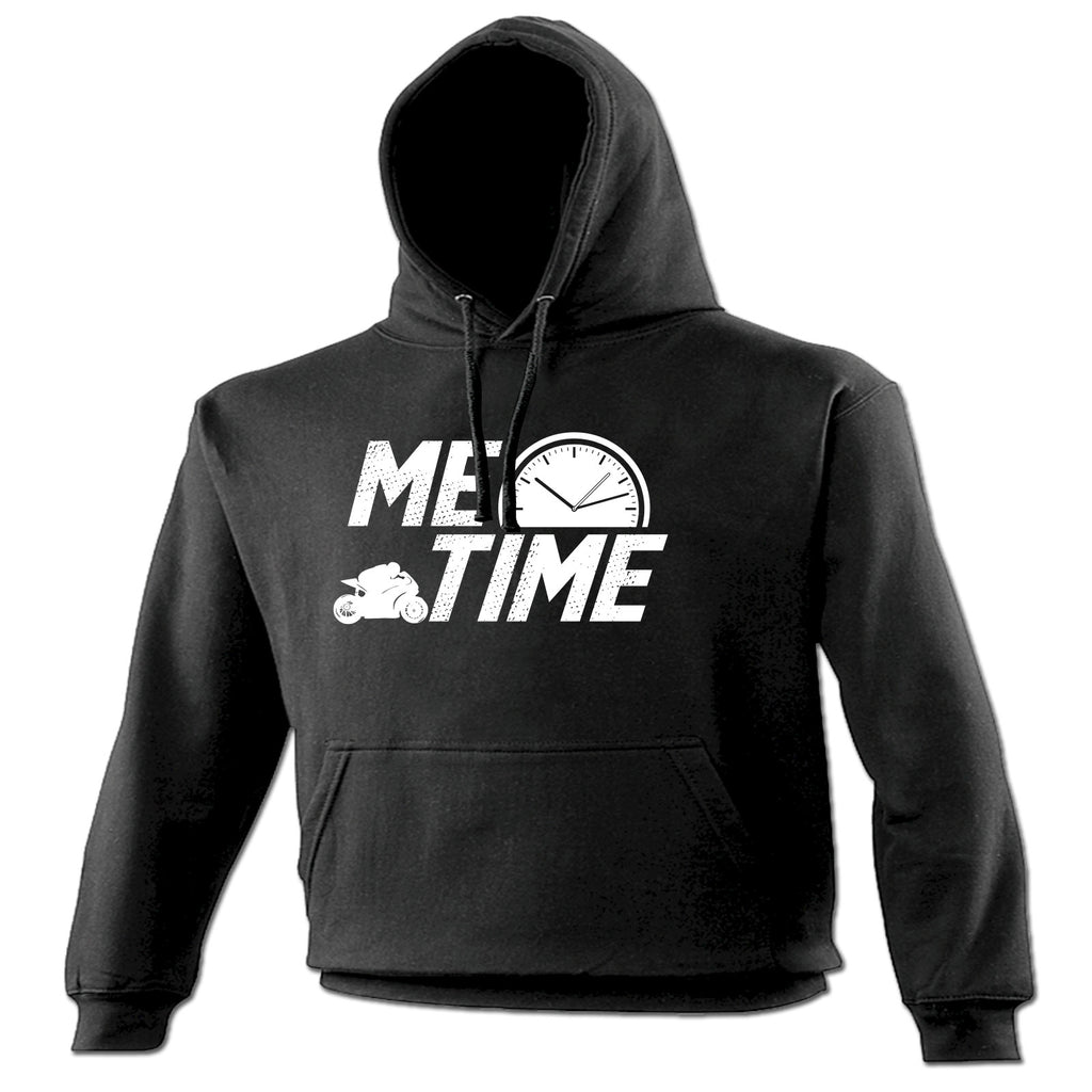 123t Me Time Superbike Design Funny Hoodie