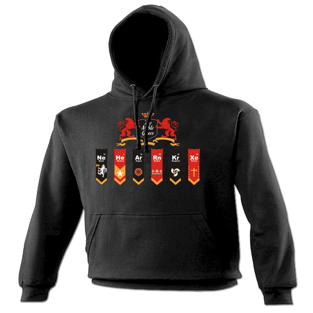 123t The Noble Gases Royal Flag Design Funny Hoodie