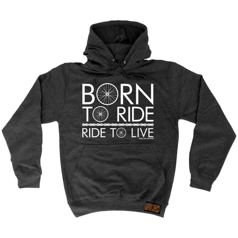 Ride Like The Wind Born To Ride Ride To Live Cycling Hoodie
