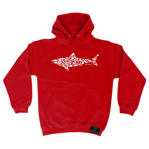 Open Water Shark Scuba Divers Design Scuba Diving Hoodie