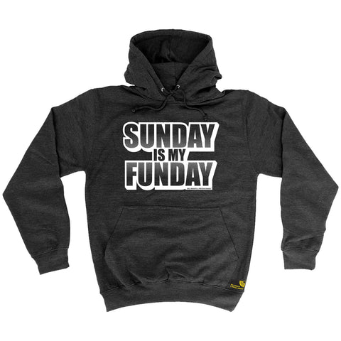 Sex Weights and Protein Shakes Sunday Is My Funday Sex Weights And Protein Shakes Gym Hoodie