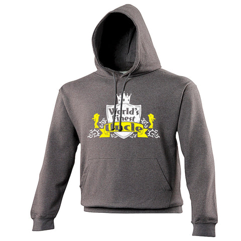123t World's Finest Uncle Funny Hoodie