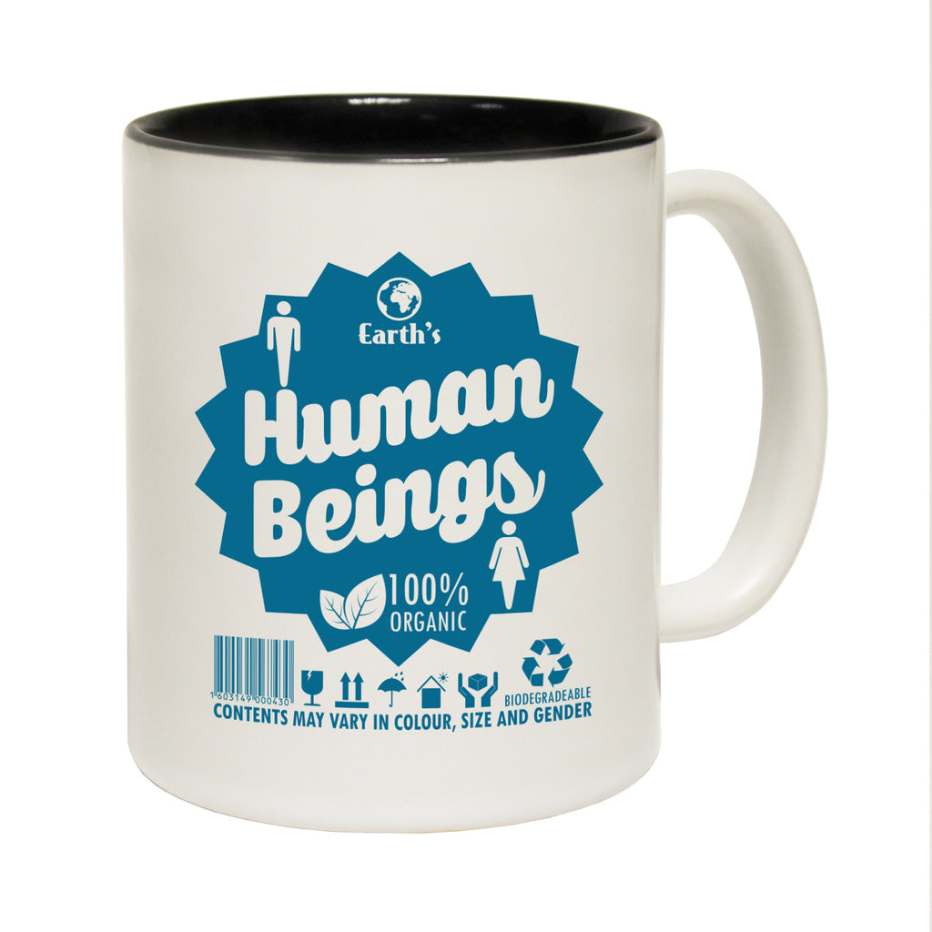 123T Funny Mugs - Human Beings - Coffee Cup