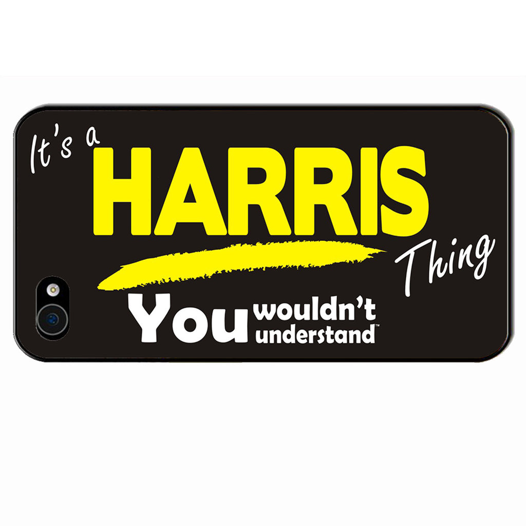 123t It's A Harris Thing You Wouldn't Understand iPhone Cover ( All Models )