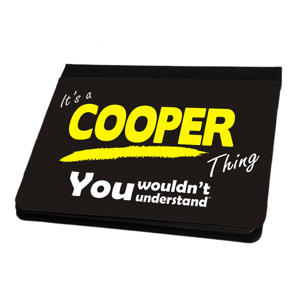123t It's A Cooper Surname Thing iPad Cover / Case / Stand ( All Models )