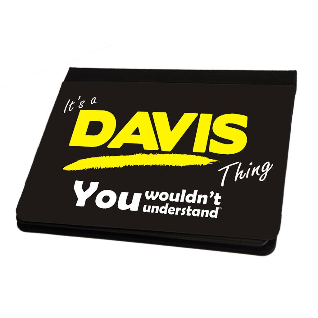 123t It's A Davis Surname Thing iPad Cover / Case / Stand ( All Models )