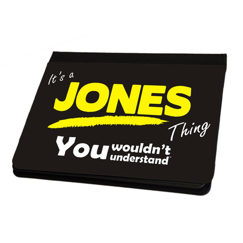 123t It's A Jones Surname Thing iPad Cover / Case / Stand ( All Models )