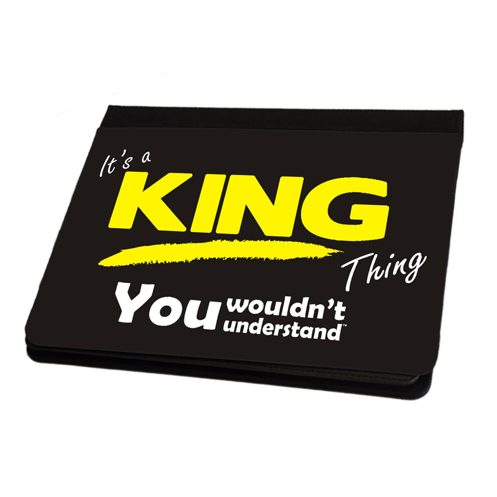 123t It's A King Surname Thing iPad Cover / Case / Stand ( All Models )
