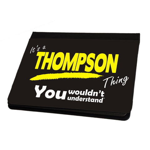 123t It's A Thompson Surname Thing iPad Cover / Case / Stand ( All Models ), Its A Surname Thing