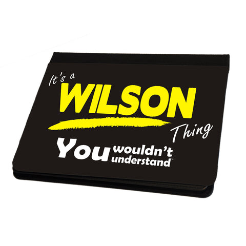 123t It's A Wilson Surname Thing iPad Cover / Case / Stand ( All Models )