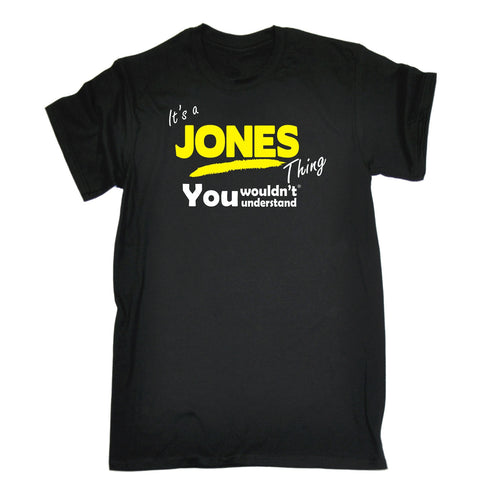 123t Kids It's A Jones Thing You Wouldn't Understand Funny T-Shirt Ages 3-13