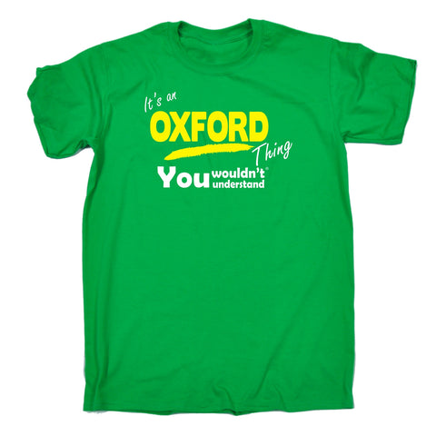 123t Men's It's An Oxford Thing You Wouldn't Understand Funny T-Shirt