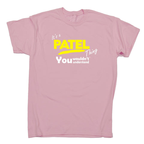 123t Kids It's A Patel Thing You Wouldn't Understand Funny T-Shirt Ages 3-13