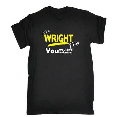 123t Kids It's A Wright Thing You Wouldn't Understand Funny T-Shirt Ages 3-13
